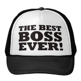 Mejor Boss nunca Gorras De Camionero