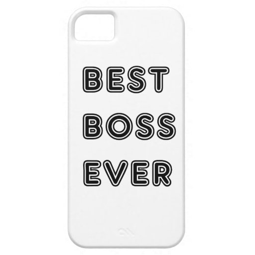 Mejor Boss nunca iPhone 5 Case-Mate Protector