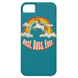 Mejor Boss nunca iPhone 5 Funda