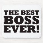 Mejor Boss nunca Tapete De Ratones