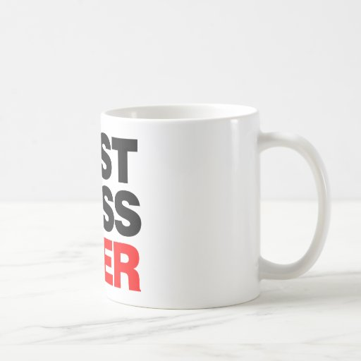 Mejor Boss nunca Tazas De Café