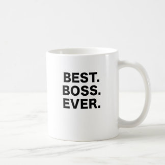 Mejor Boss nunca Taza Clásica