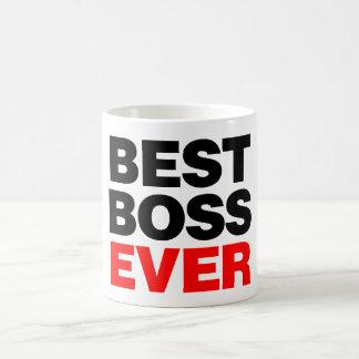 Mejor Boss nunca Taza De Café