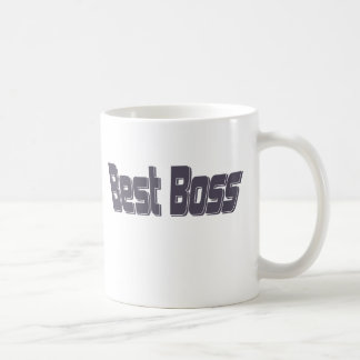 Mejor Boss Taza Básica Blanca