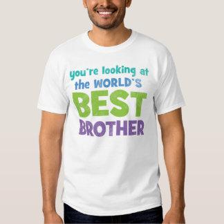 Mejor Brother del mundo Remera