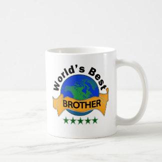 Mejor Brother del mundo Tazas De Café