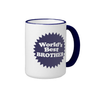 Mejor Brother del mundo Tazas