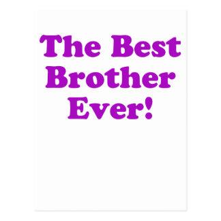 Mejor Brother nunca Postales