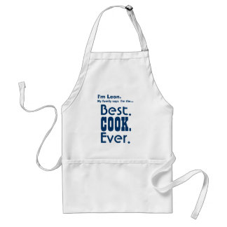 Mejor cocinero conocido de encargo nunca V02 Delantal