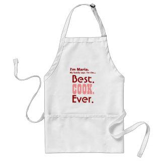 Mejor cocinero conocido de encargo nunca V04A Delantal