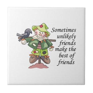Mejor de amigos tejas  cerámicas