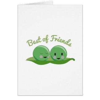 Mejor de amigos tarjetón