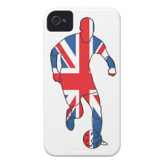 Mejor de Británicos, fútbol iPhone 4 Case-Mate Coberturas