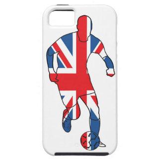 Mejor de Británicos, fútbol iPhone 5 Case-Mate Protectores