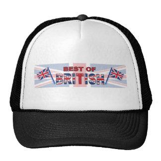 Mejor de Británicos Gorra