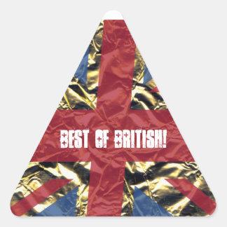 ¡Mejor de Británicos Colcomanias Trianguladas Personalizadas