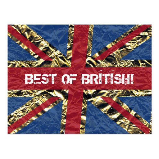 ¡Mejor de Británicos! Tarjeta Postal