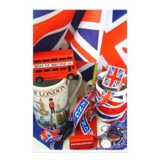 Mejor de recuerdos británicos papeleria personalizada
