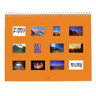 Mejor de Travelicious de Utah Calendario De Pared