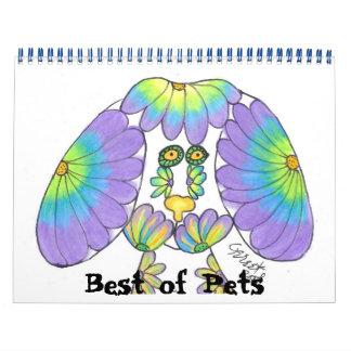 Mejor del calendario de los mascotas
