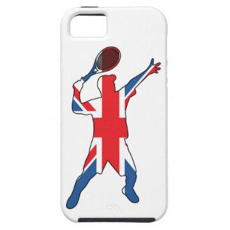 Mejor del tenis británico funda para iPhone 5 tough