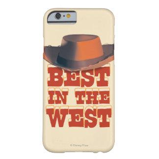 Mejor en el oeste funda de iPhone 6 barely there