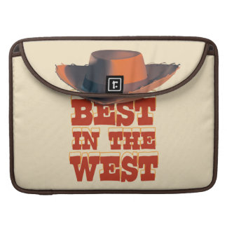 Mejor en el oeste funda para macbooks