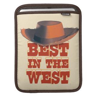 Mejor en el oeste mangas de iPad