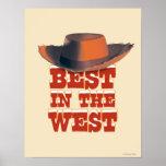 Mejor en el oeste póster