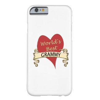 Mejor Grammy del mundo Funda De iPhone 6 Barely There