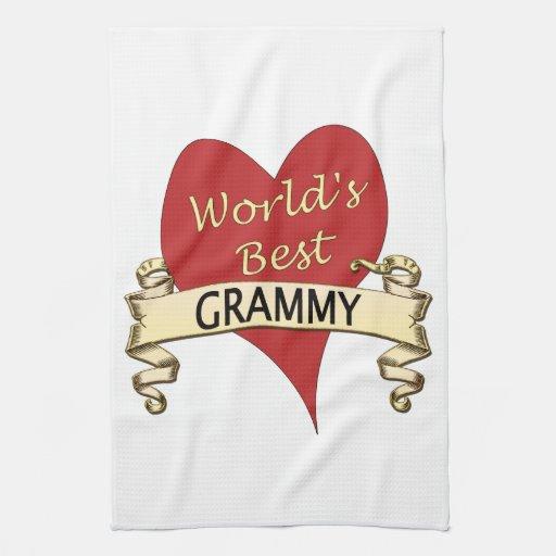 Mejor Grammy del mundo Toallas De Mano