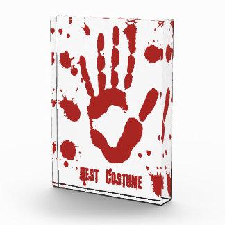 Mejor Halloween traje sangriento de Handprint
