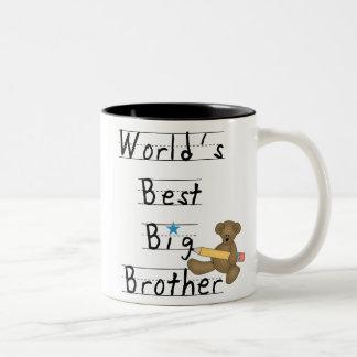 Mejor hermano mayor del mundo taza