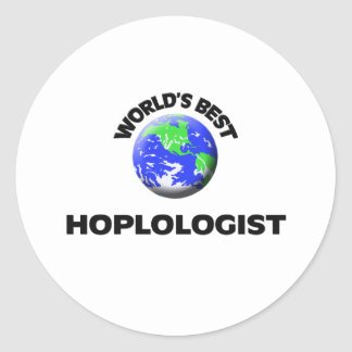 Mejor Hoplologist del mundo Pegatinas
