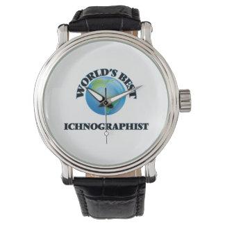 Mejor Ichnographist del mundo Reloj De Mano