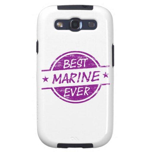 Mejor infante de marina siempre púrpura samsung galaxy s3 protector