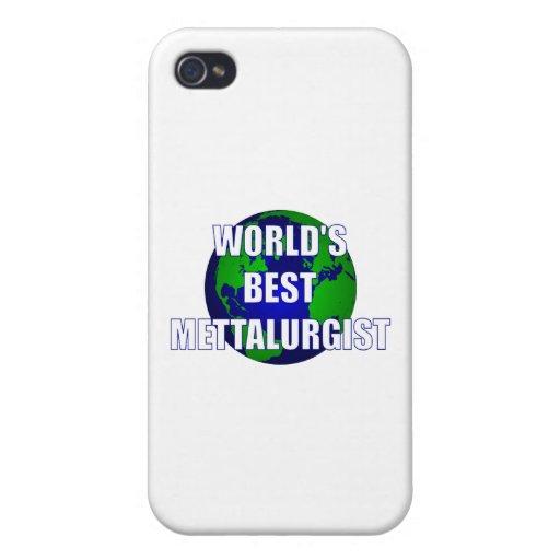Mejor Mettalurgist del mundo iPhone 4 Carcasas