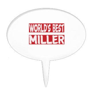 Mejor Miller del mundo Decoraciones De Tartas