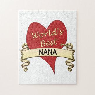 Mejor Nana del mundo Puzzles
