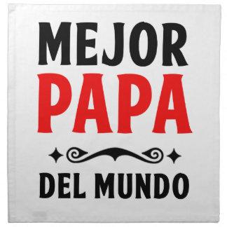 mejor papa delmonico cloth napkin