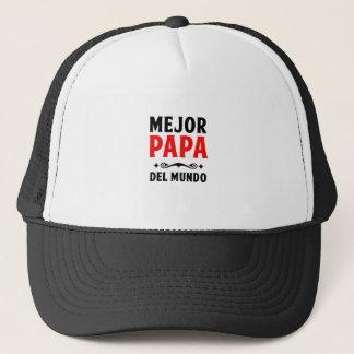mejor papa delmonico trucker hat