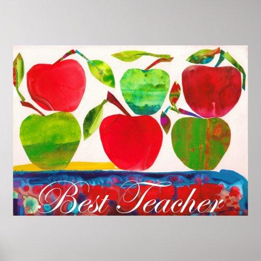 Mejor poster enorme del profesor