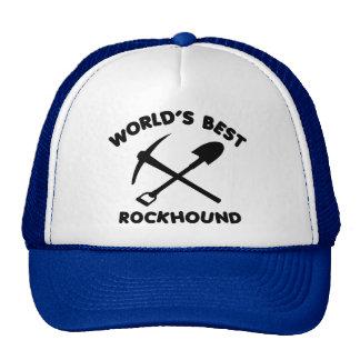 Mejor Rockhound del mundo Gorro De Camionero
