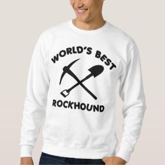 Mejor Rockhound del mundo Sudadera