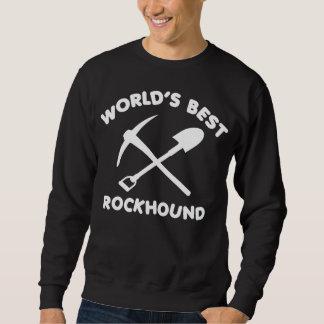 Mejor Rockhound del mundo Sudadera Con Capucha