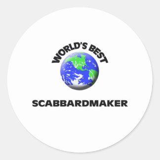 Mejor Scabbardmaker del mundo Pegatinas
