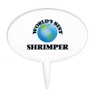 Mejor Shrimper del mundo Decoraciones De Tartas
