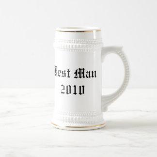 Mejor stein personalizado del favor del boda del h tazas