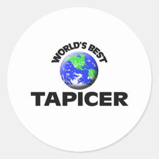 Mejor Tapicer del mundo Etiqueta