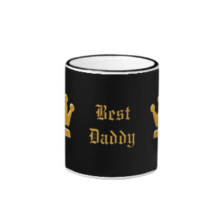 Mejor taza de oro del papá